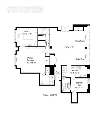 New York City Real Estate | View 200 East 66th Street, #A17-01 | Floorplan