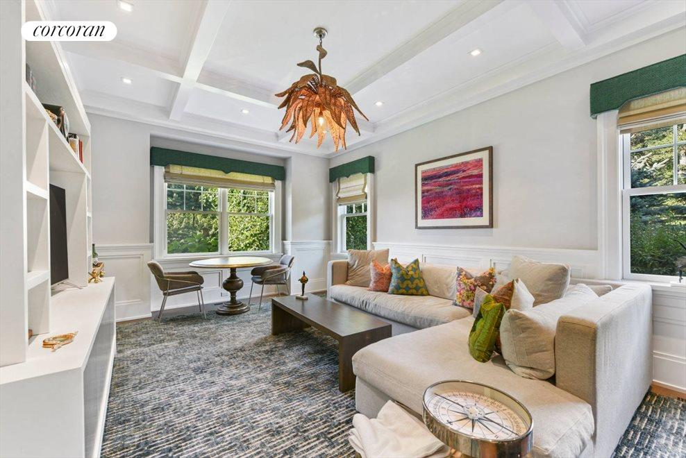 The Hamptons Real Estate | View 1109 Head of Pond Road | Den