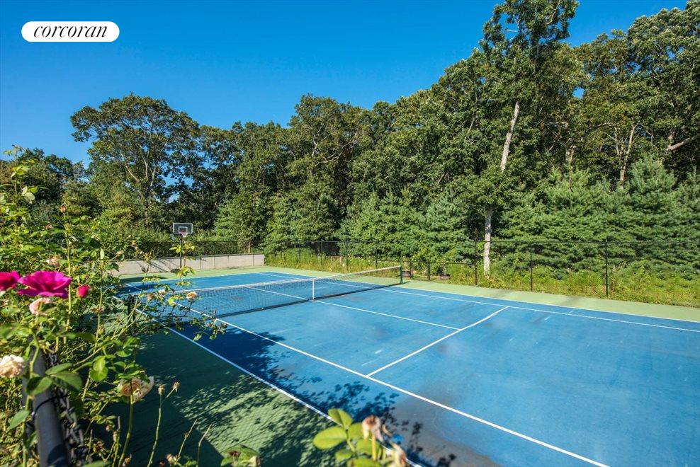 The Hamptons Real Estate | View 1109 Head of Pond Road | Tennis - Allweather