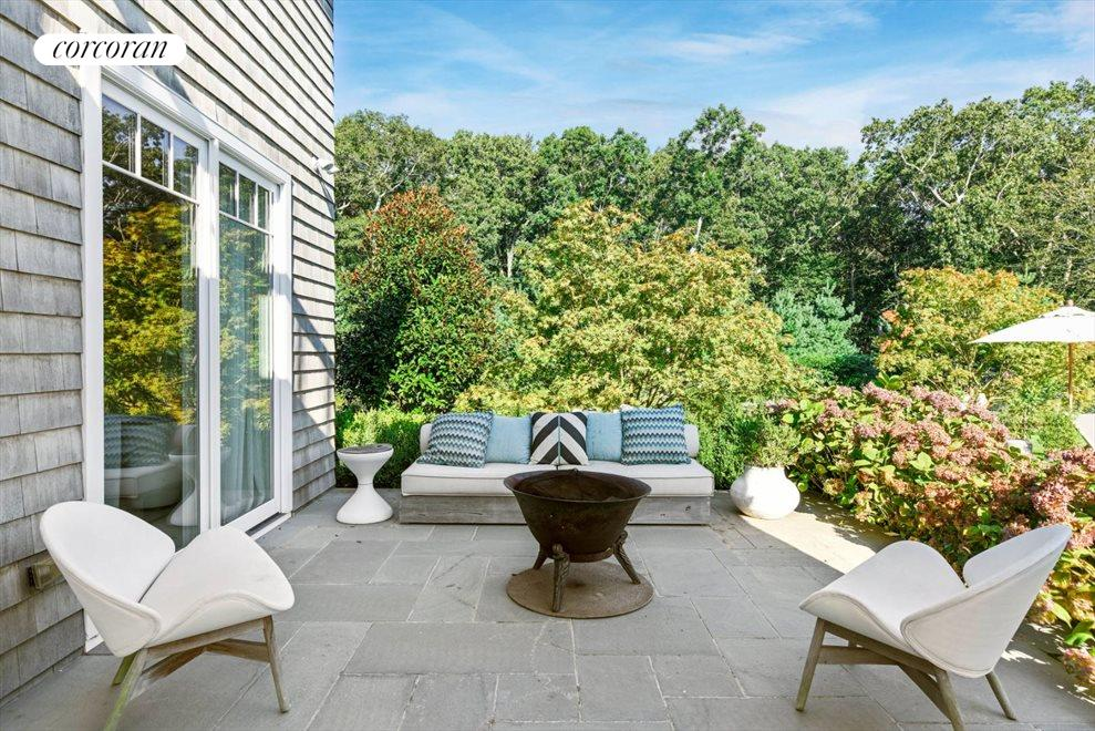 The Hamptons Real Estate | View 1109 Head of Pond Road | Master Deck