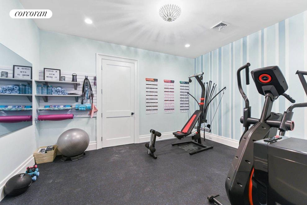 The Hamptons Real Estate | View 1109 Head of Pond Road | Gym