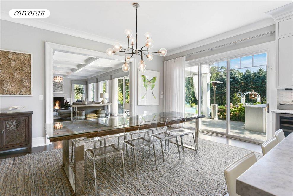 The Hamptons Real Estate | View 1109 Head of Pond Road | Breakfast v 2