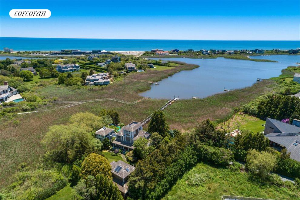 The Hamptons Real Estate | View 111 Pointe Mecox Lane | 4 Beds, 6 Baths