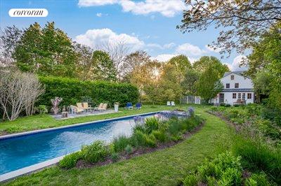 The Hamptons Real Estate | View 384 Main Street | Heated Saltwater Pool