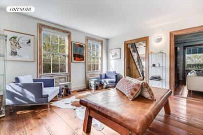 The Hamptons Real Estate | View 384 Main Street | Open Room Living Space