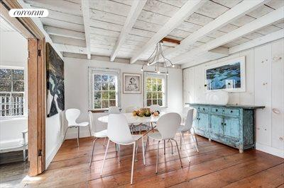 The Hamptons Real Estate | View 384 Main Street | Bright Dining Room