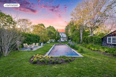 The Hamptons Real Estate | View 384 Main Street | Dusk in Amagansett