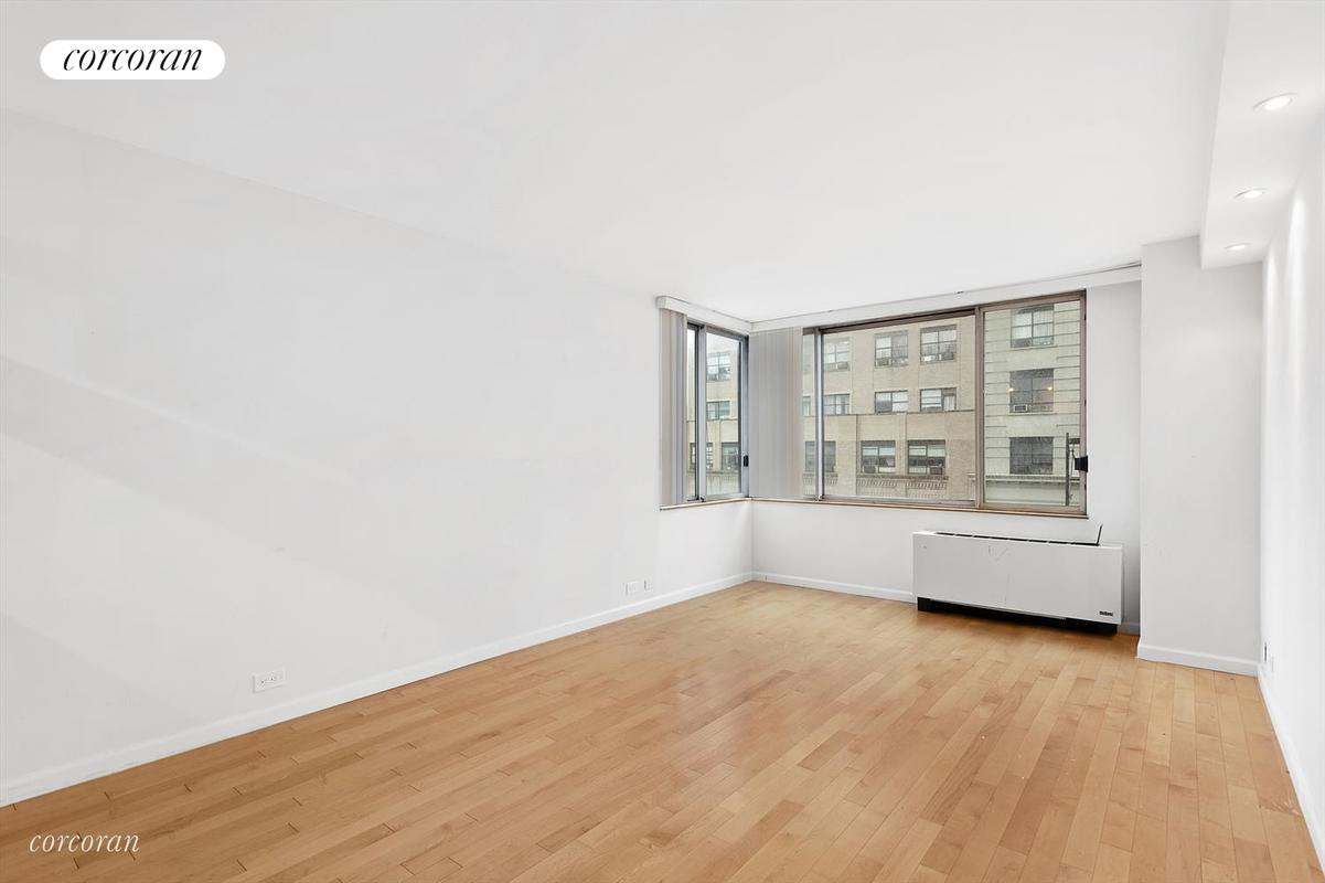 "Residence 8G is a beautifully renovated, bright corner one bedroom facing North and West offered for short-term rental only. Spacious pass-through kitchen with stainless steel appliances, granite countertops and new cabinets. New hardwood floors throughout, excellent closet space. The building also has a live-in Resident Manager, 24-hour Concierge, doorman, eight laundry rooms, a ""Resident's only"" courtyard. Elite Sports Club with a 40,000 sq ft. new gym with the latest technology, four court yards, a saltwater pool and sauna is connected to the building. Monthly and annual memberships available.The Residences at Worldwide Plaza is a full-service condominium ideally located in the heart of the vibrant Manhattan's theater district and the Midtown Financial District and close to Central Park, Lincoln Center, the Hudson River Park, Rockefeller Center, St. Patrick's Cathedral, numerous restaurants, museums and points of interest. The garage on the premises is available to residents for a nominal fee. Close to the C, E, 1, Q, N and R subway lines and cross-town buses. AVAILABLE IMMEDIATELY UNFURNISHED."