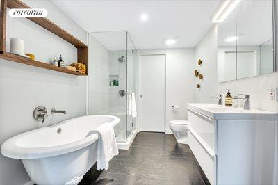 New York City Real Estate | View 111 Saint Felix Street | Master Bathroom w. Walk In Closet
