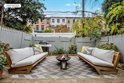 New York City Real Estate | View 111 Saint Felix Street | Dreamy Private Garden Oasis