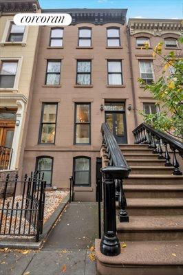 New York City Real Estate | View 111 Saint Felix Street | Four Story Brownstone within BAM Historic District