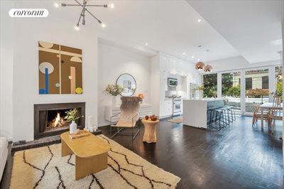New York City Real Estate | View 111 Saint Felix Street | Expansive Open Living & Dining Area