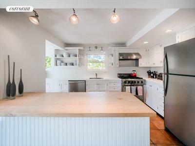 The Hamptons Real Estate | View 151 Halsey Street | Renovated Kitchen