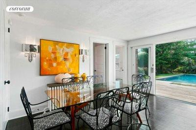 The Hamptons Real Estate | View 151 Halsey Street | Dining Room
