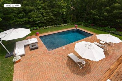 The Hamptons Real Estate | View 18 Noelles Lane | Heated gunite Pool