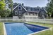 54 Brandywine Drive, Pool and back of house