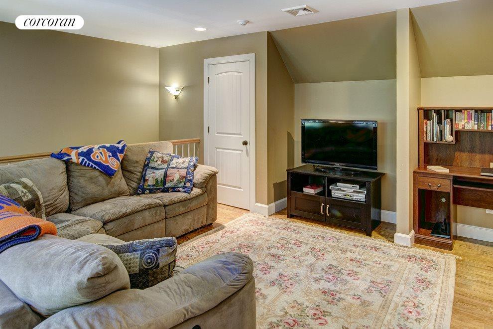 Loft TV room
