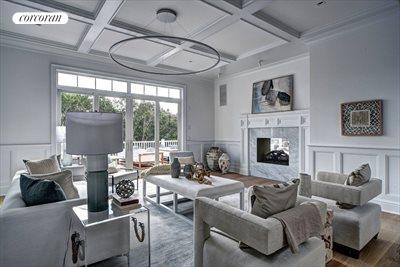 The Hamptons Real Estate | View 12 Water Mill Heights Drive | living room