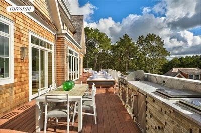 The Hamptons Real Estate | View 12 Water Mill Heights Drive | rear deck