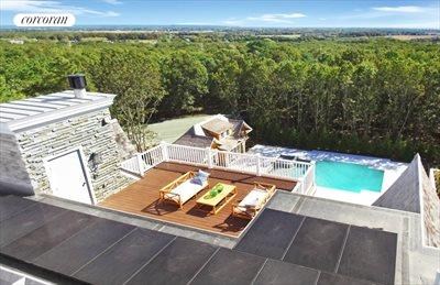 The Hamptons Real Estate | View 12 Water Mill Heights Drive | roof deck