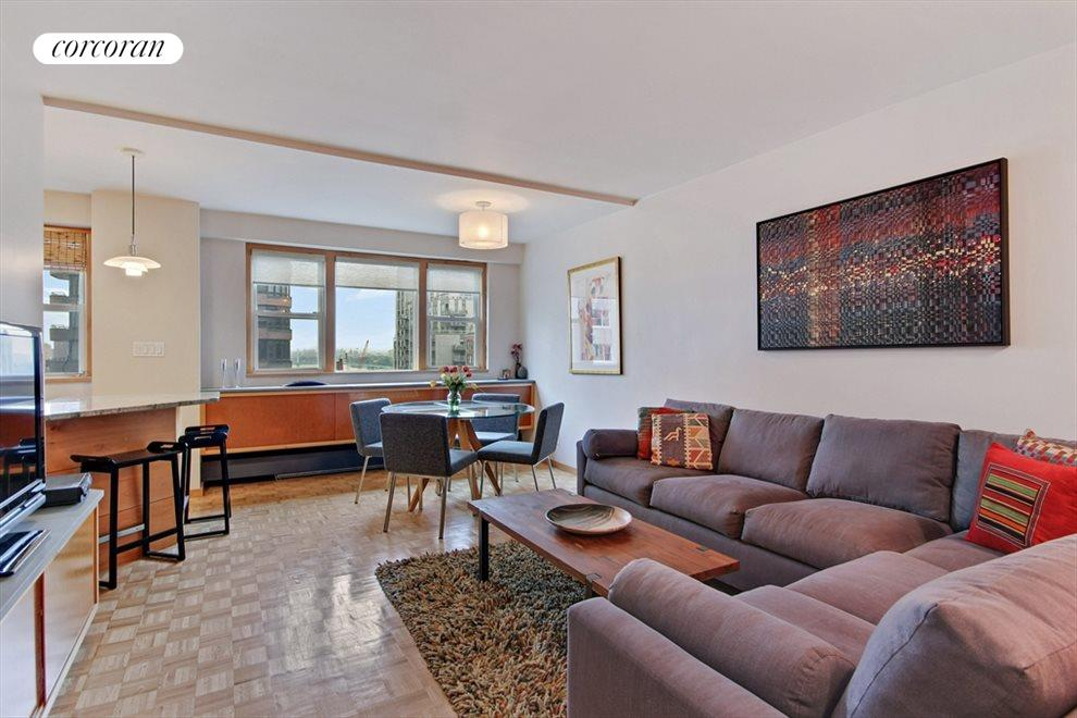 Spacious North Facing Living Room with River View