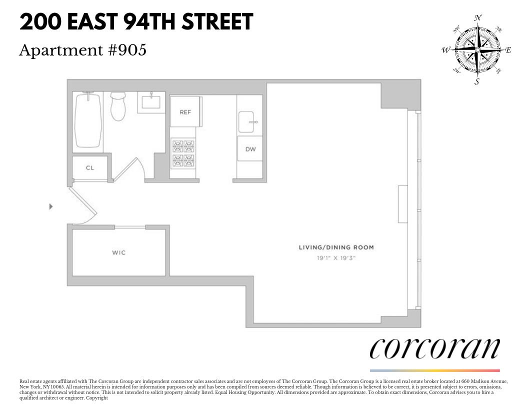 200 East 94th Street 905 Upper East Side New York NY 10128