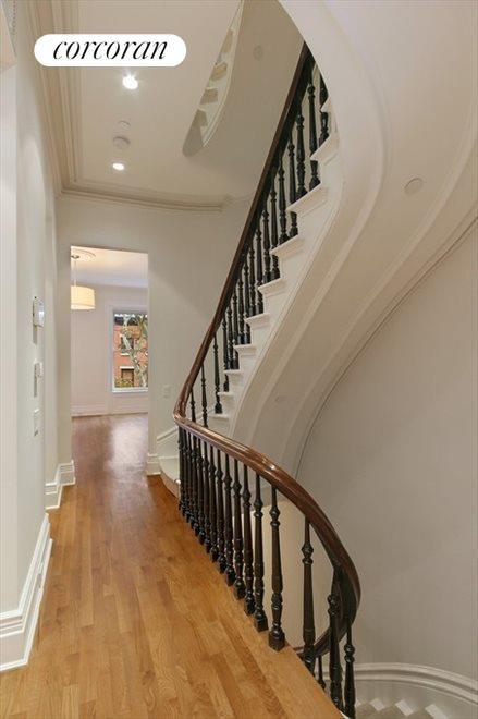 Restored Center Staircase