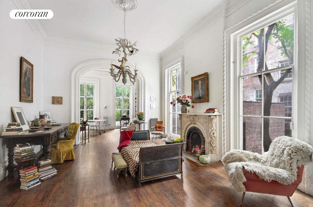 Corcoran 66 morton street west village real estate for West village townhouse for sale