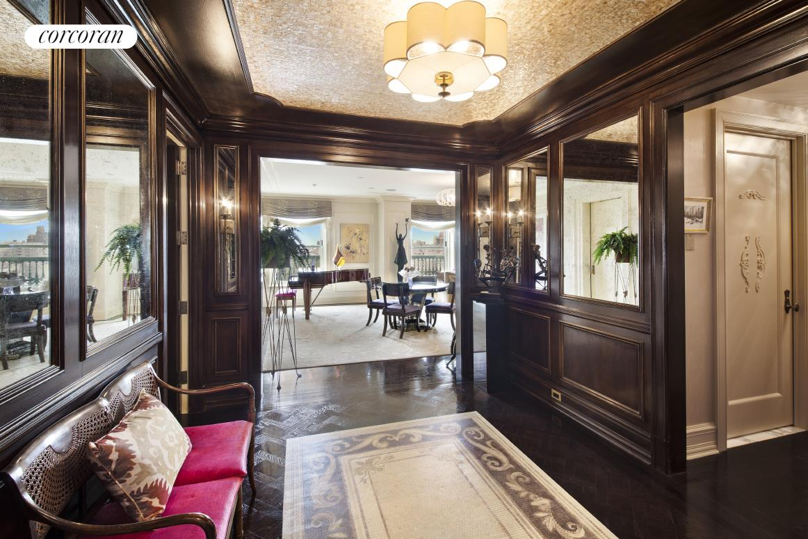 1 Central Park South, 1603, Living Room
