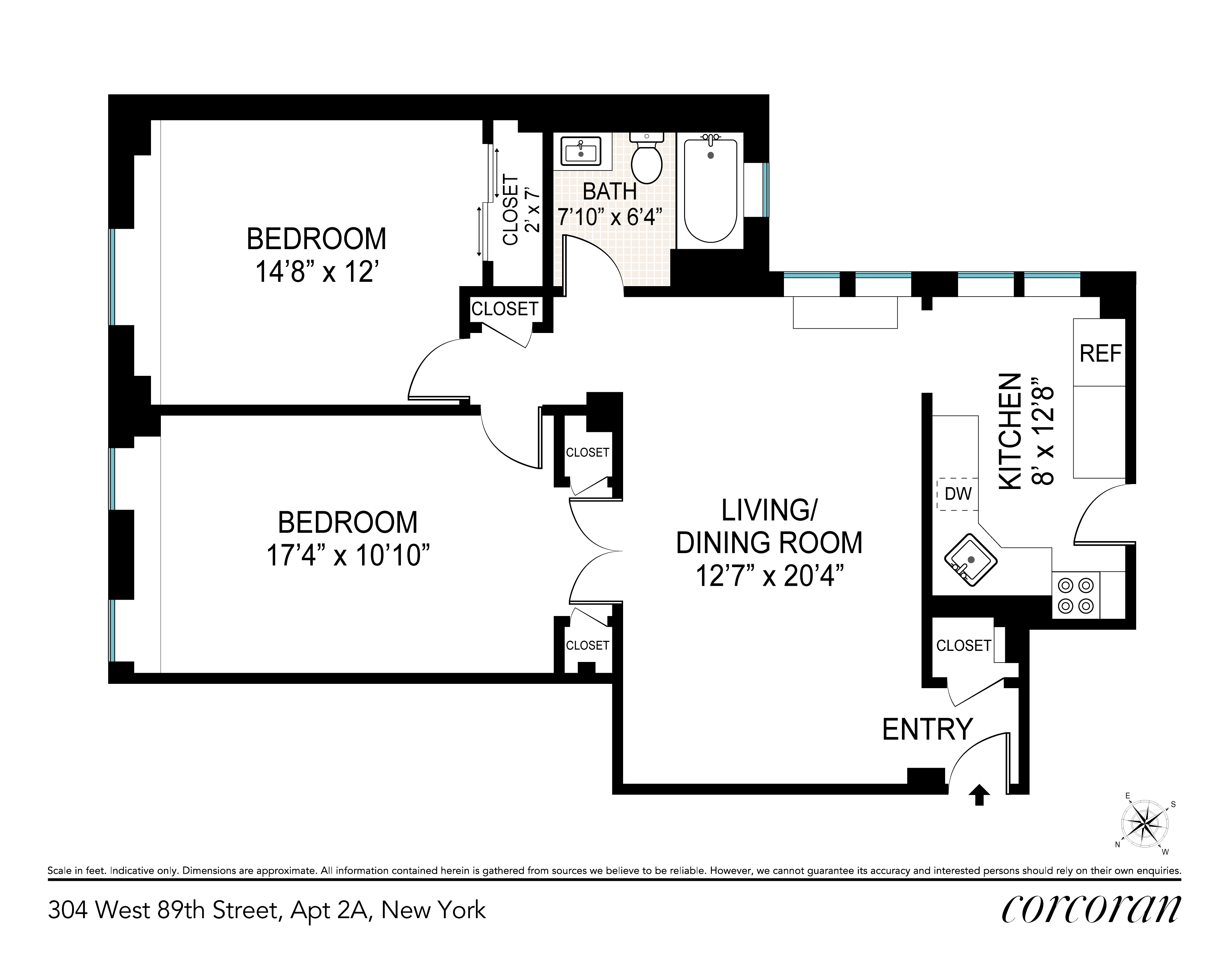304 West 89th Street Upper West Side New York NY 10024