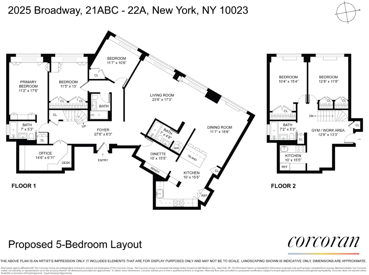 2025 Broadway Lincoln Square New York NY 10023