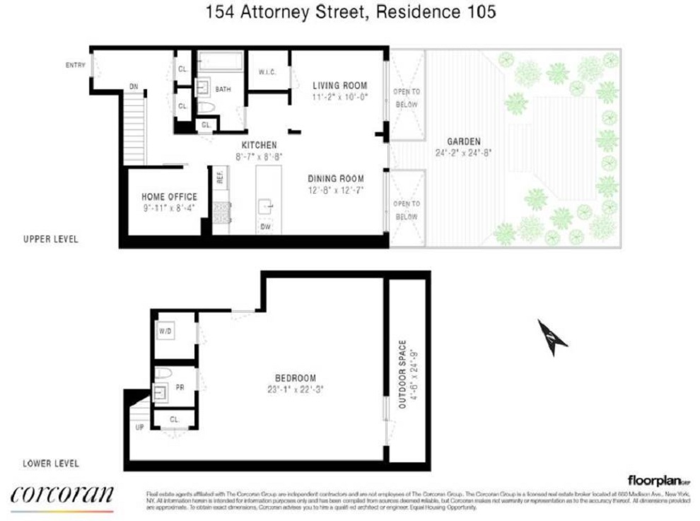 154 Attorney Street 105 Lower East Side New York NY 10002