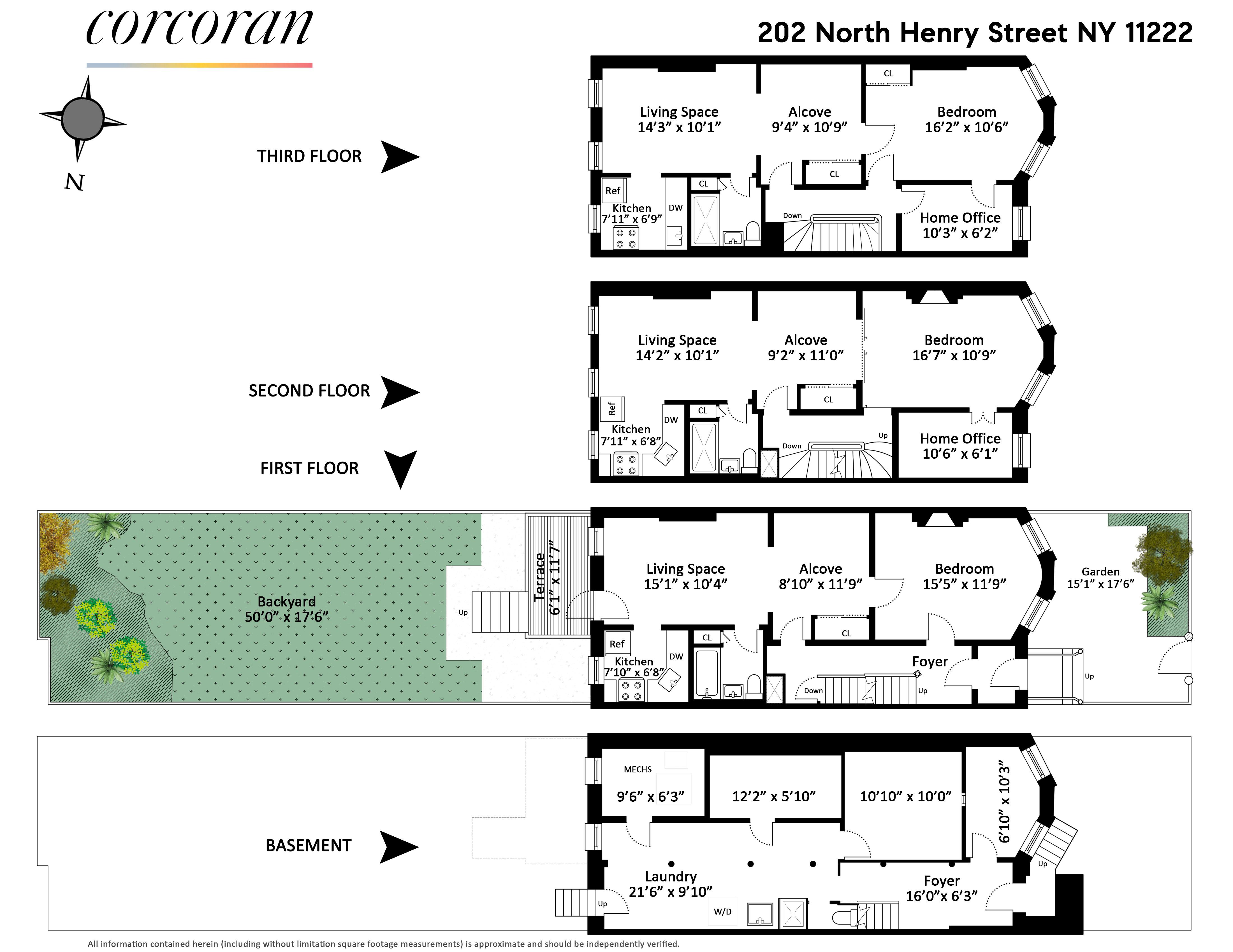 202 North Henry Street East Williamsburg Brooklyn NY 11222