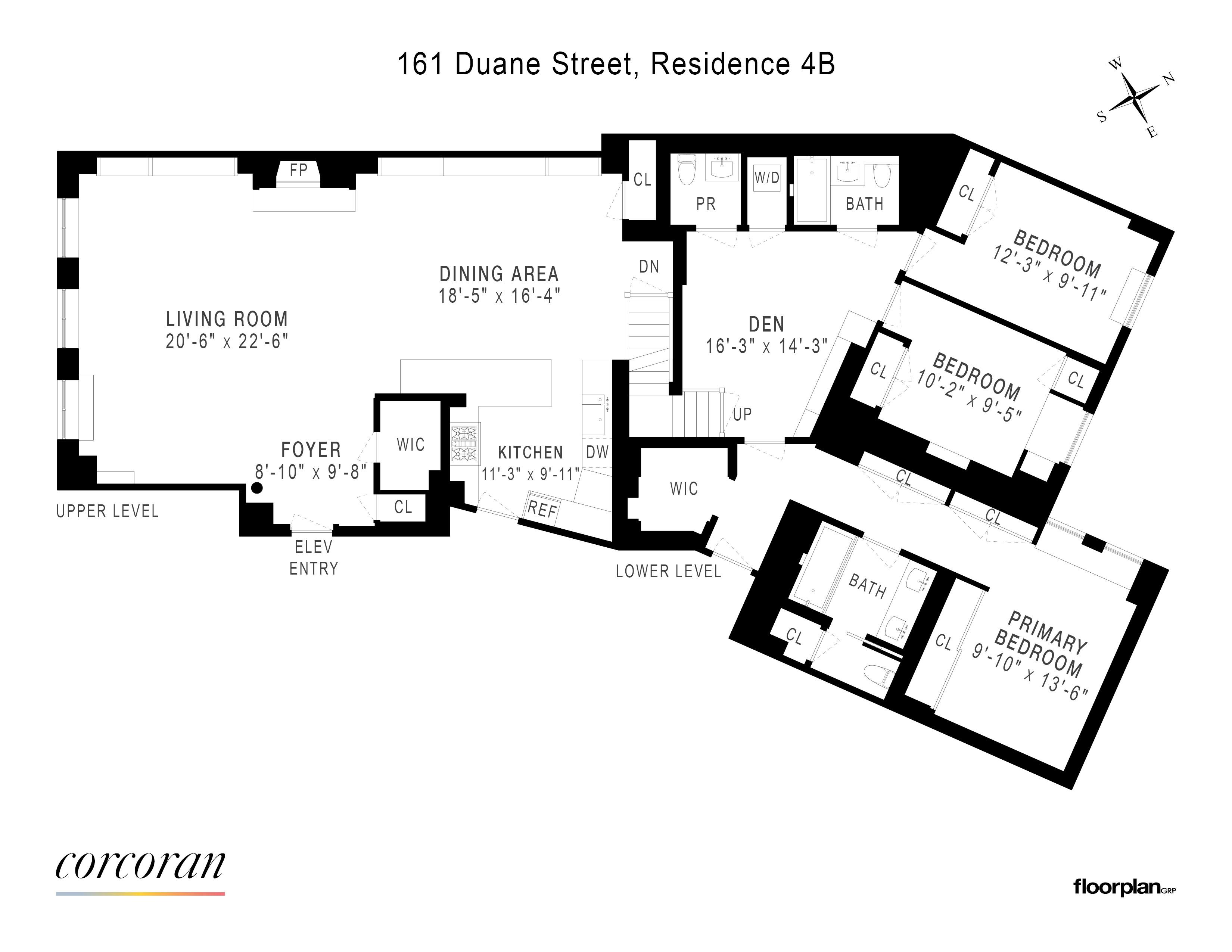 161 Duane Street Tribeca New York NY 10013