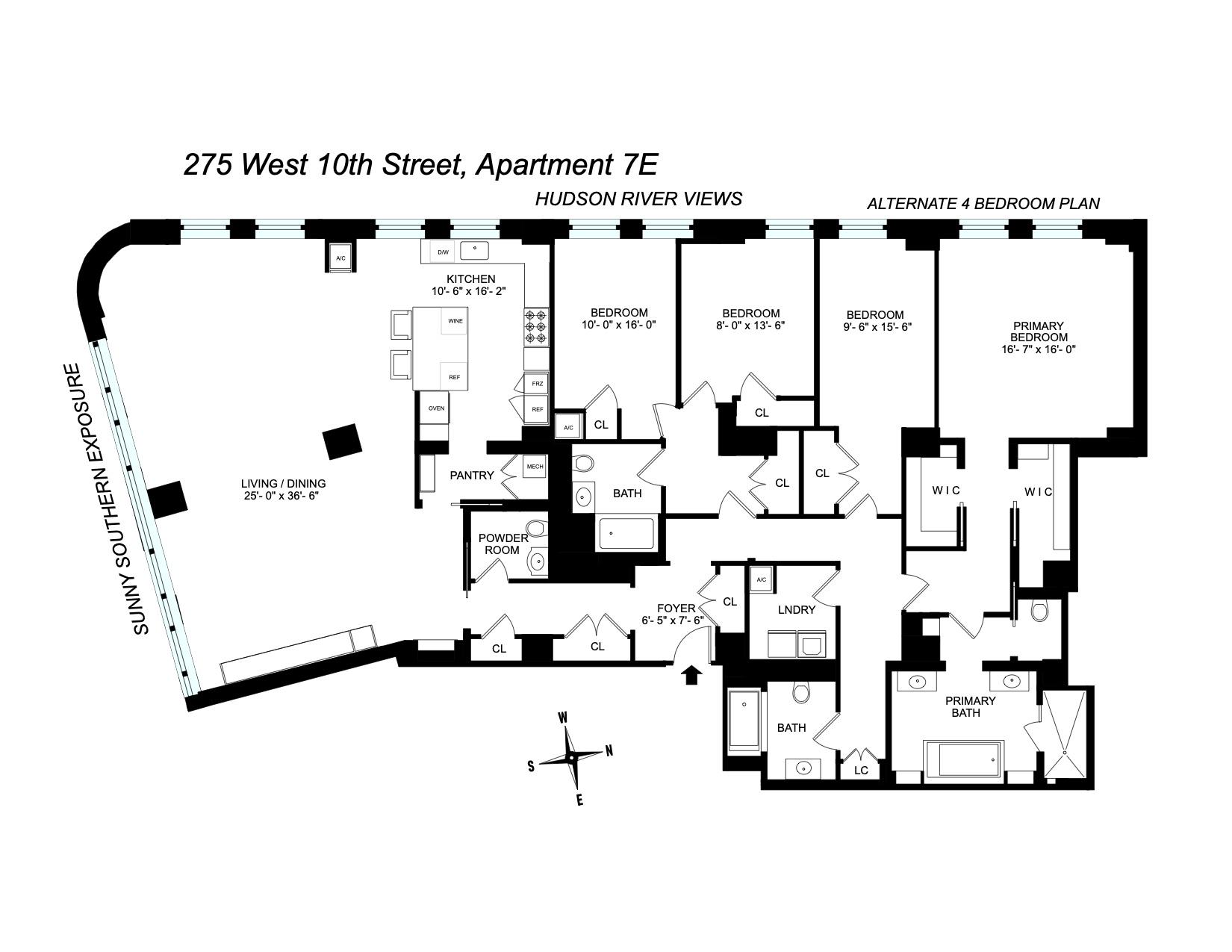 275 West 10th Street W. Greenwich Village New York NY 10014