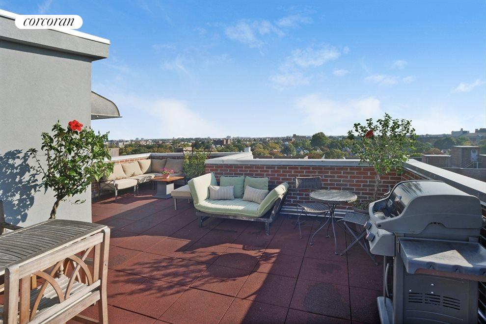 Roof Deck with 360 degree views!