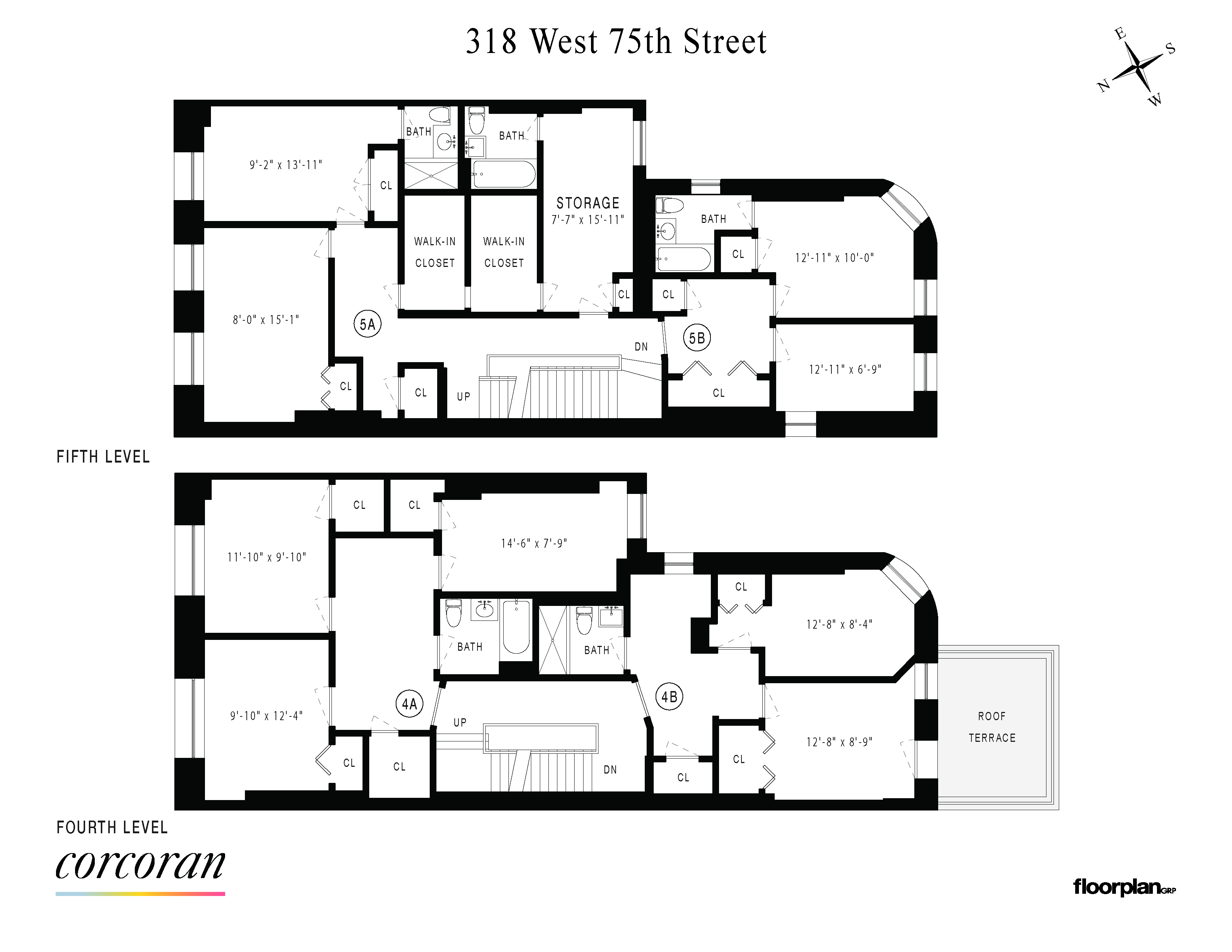 318 West 75th Street Upper West Side New York NY 10023
