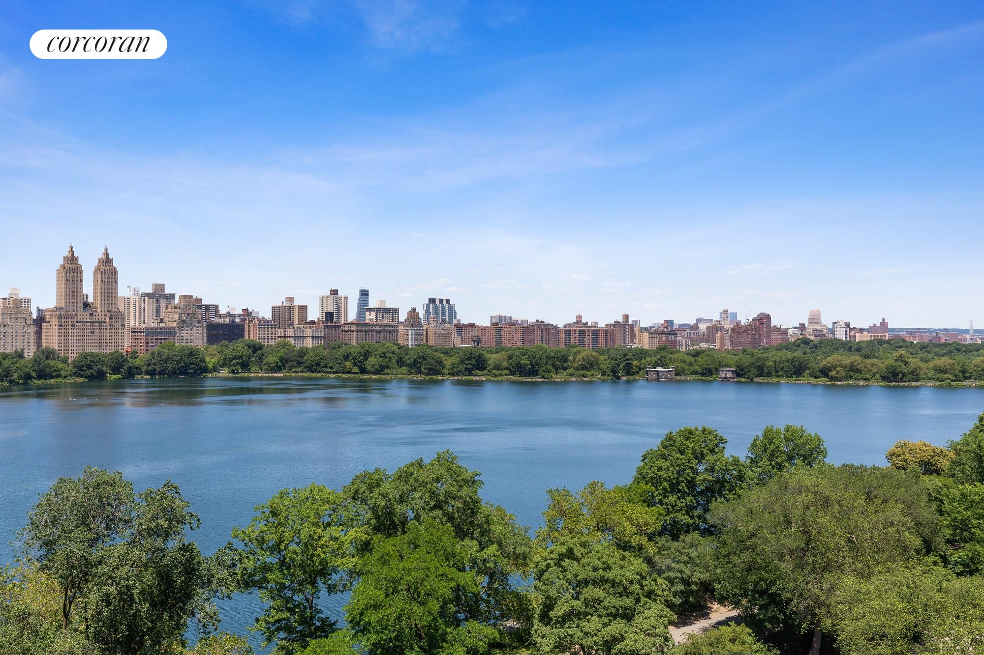 Welcome to the entire Eighteenth floor of 1050 Fifth Avenue. This trophy property has over 7,500 square feet of interior living, 1,500 square feet of outdoor living and almost 100 feet directly on Central Park. Dramatic new windows which span from 7 to 14 feet capture 180-degree views from one end of Central Park to the other. These breathtaking views allow one to see from Central Park South's skyline to the George Washington Bridge, and in between the majesty of the Jacqueline Kennedy Onassis Reservoir.Entertain from the living room and adjacent study, which can easily be combined to create a remarkable 40-foot living room directly on Fifth Avenue. Continue entertaining outdoors on the magnificent wrap terraces, also overlooking the reservoir, park and skyline views. One has the luxury of enjoying mornings, afternoons and sunsets, these spectacular views are yours to behold inside and outside of this home.There are 16 rooms of formal and informal spaces, each one with dramatically oversized windows. The views, light and large spacious rooms continually surprise one room after room. Currently configured with a living room, open kitchen, dining room, study, library, media room, kitchenette, home office, gym, laundry room, seven bedrooms, nine baths and two powder rooms. With new windows, partial central air and two additional lobby level rooms available this residence has it all.The principal suite consists of two enormous rooms with south facing light and park views from not only inside the suite but outside on the private terrace as well. There are two baths and the ability to create a windowed dressing room. All the additional bedrooms are oversized, filled with light and have open views.With a 7,500 square foot home, the only amenity one needs is a garage, which 1050 has, as well as an attentive doorman, concierge, resident manager, handymen and porters. This well-run building allows 50% financing and has no flip tax. 1050 is an established cooperative that sits 