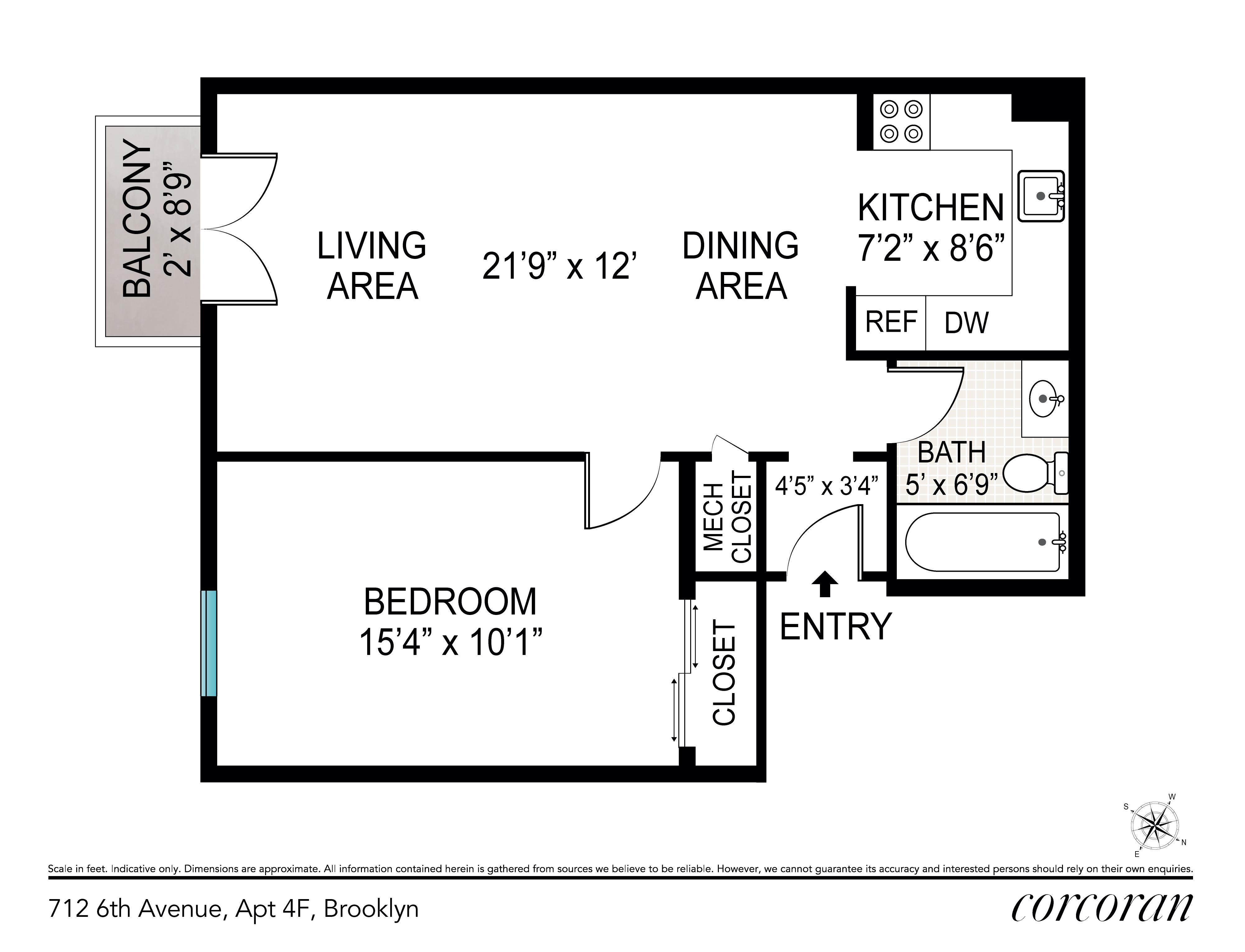 712 6th Avenue Greenwood Heights Brooklyn NY 11215