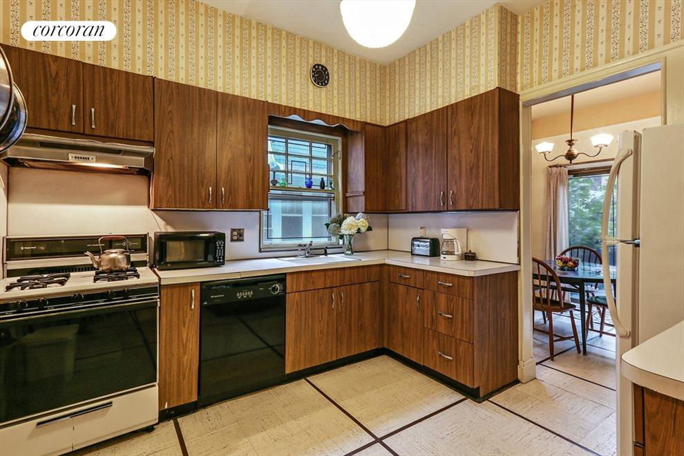 New York City Real Estate | View 633 East 19th Street | Large kitchen with separate breakfast room