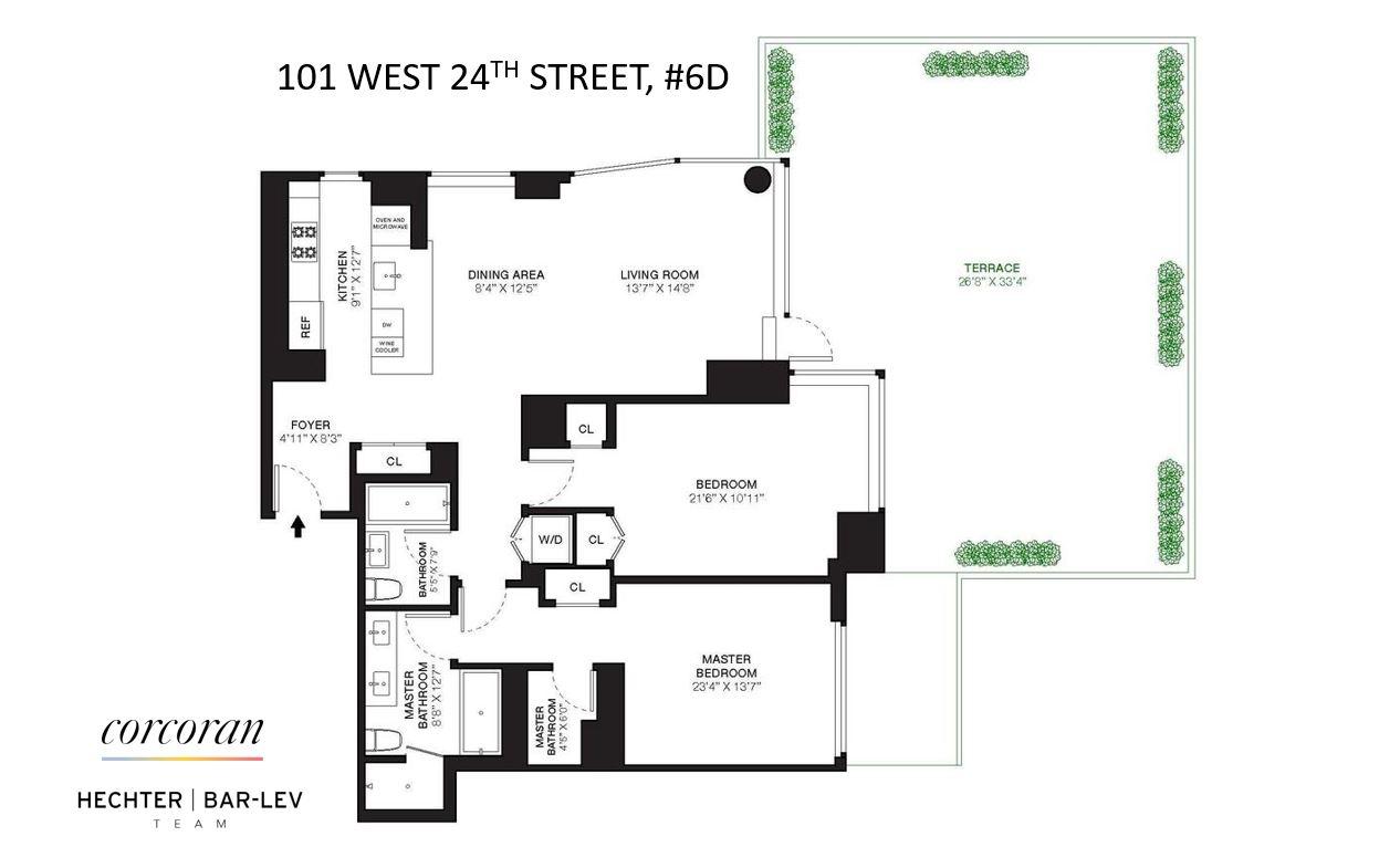 101 West 24th Street Chelsea New York NY 10011