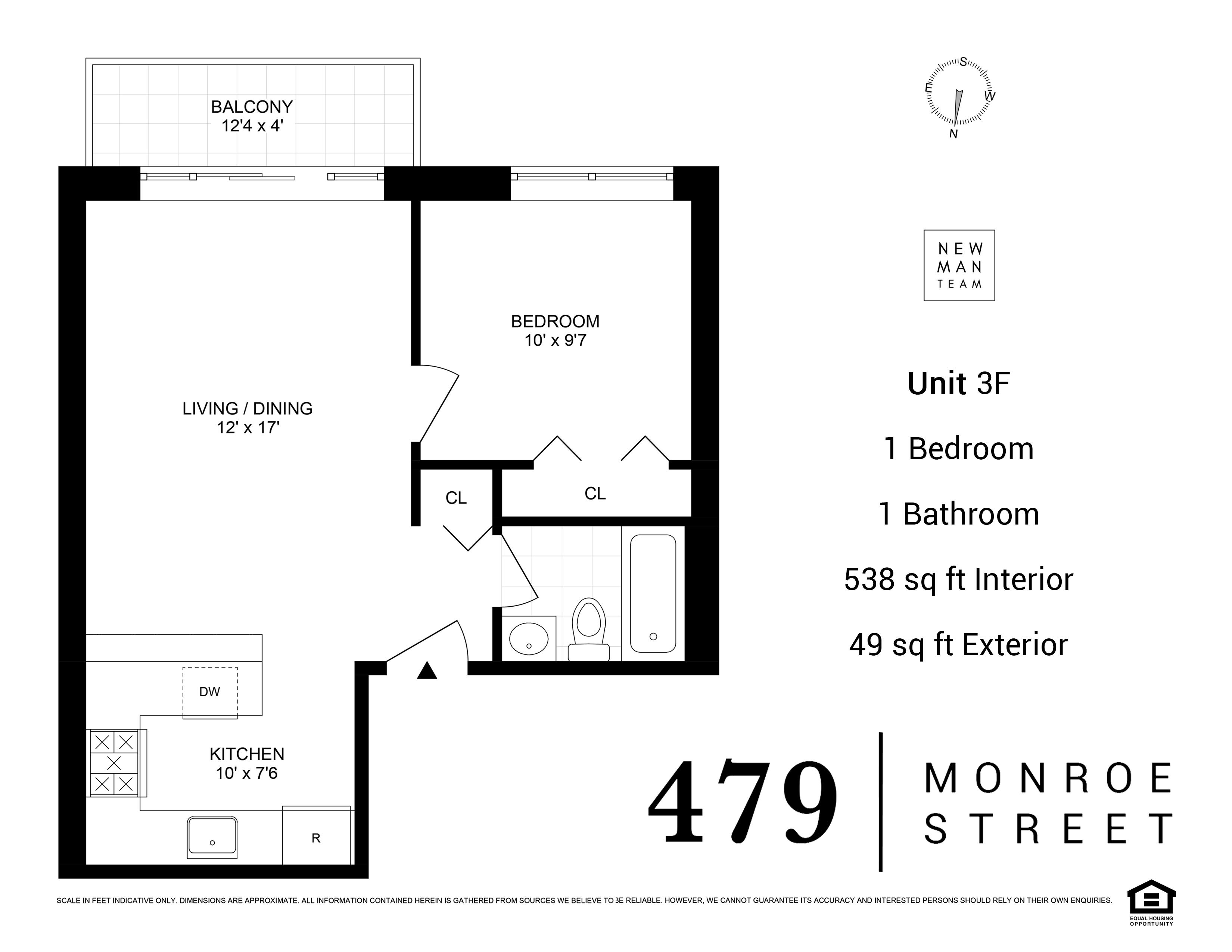 479 Monroe Street Bedford Stuyvesant Brooklyn NY 11221