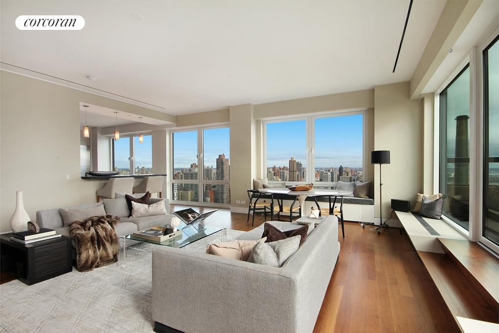 515 East 72nd Street, PHA, Living Room