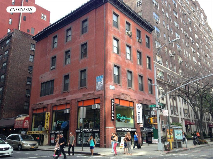 Mixed-use with retail on Madison Avenue