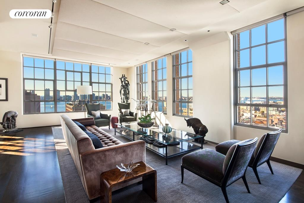 Corcoran 145 hudson st apt 14b tribeca real estate for Homes for sale in tribeca