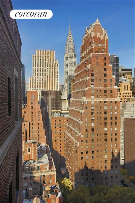 Sunny Western View of the Chrysler Building