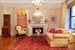 340 West 86th Street, 3A, Living Room with Original Fireplace