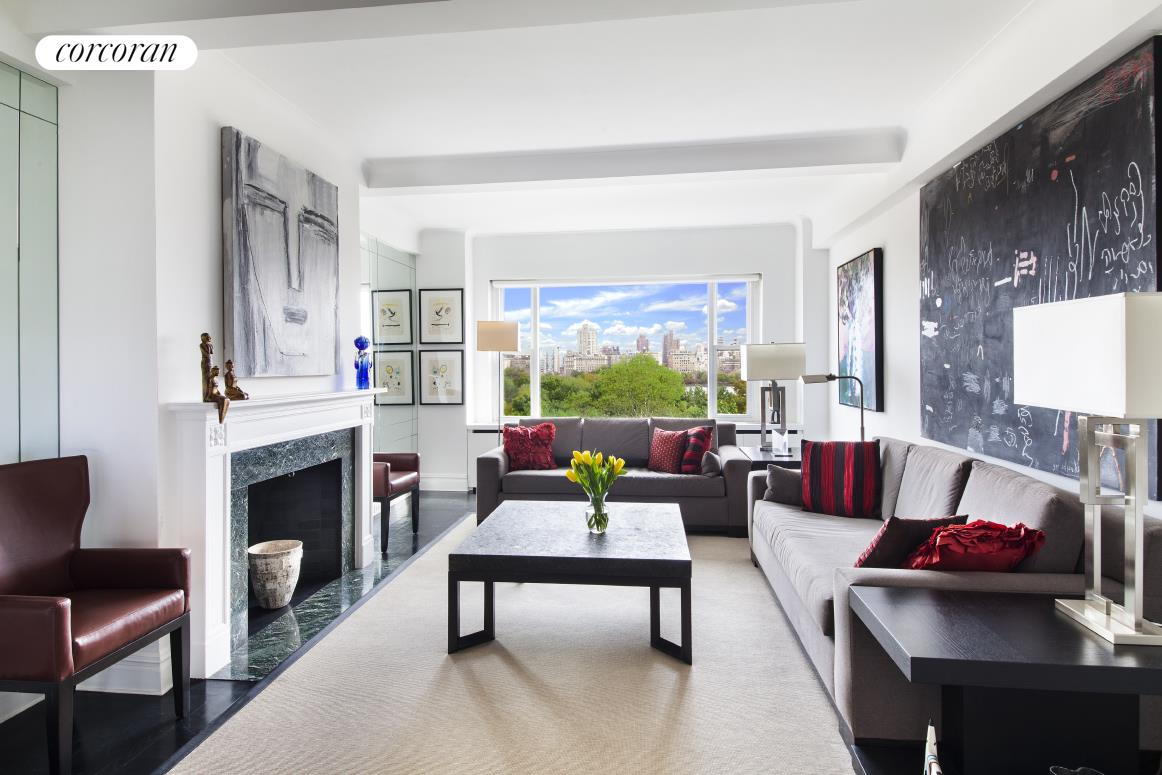 322 Central Park West, 10C, Living Room
