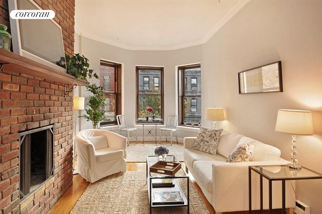 23 West 83rd Street, 3F, Living Room