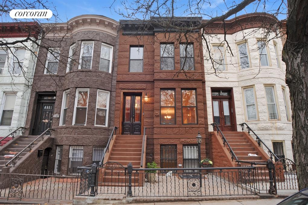 Corcoran 599 bainbridge street bedford stuyvesant real for New york city brownstone for sale